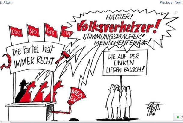 Bürgerkrieg �la Merkel