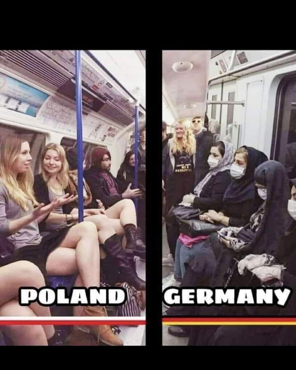 Polen -<br>Deutschland